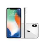 Apple Iphone X 5.8 , Câmera 12mp Dual + 7mp Prata 256gb