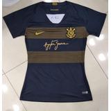 018dc816d3 Camisa Corinthians Oficial Feminina no Mercado Livre Brasil