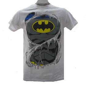 Playera Batman Torso Dc Comics Original Envío Gratis