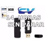 Preventa Grabador De Voz Espia 8 Gb Memoria Usb Delivery