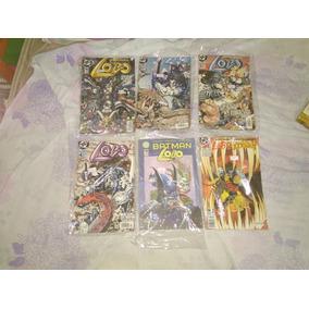 Lote Hqs Lobo Dc Comics, Lucifer Sandman Apresenta Hitman