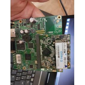 Mikrotik- Routerboard Rb 411+ Cartão R52hn+ Cartão R52-350