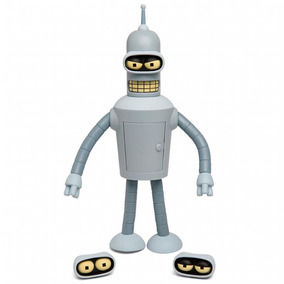 Bender - Futurama. Matt Groening. 2012 Toynami. 15 Cm.