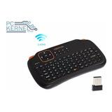 Mini Teclado Inalámbrico Táctil Mouse Juegos Pc Android Tv