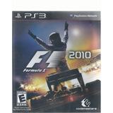 F1 2010 Para Play Station 3 Disco Físico