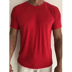 Kit 3 Unidades - Camiseta Dry Fit 100% Poliamida Malha Leve