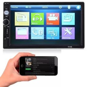 Dvd Multimidia Mp5 Player Bluetooth Usb Sd Fm + Câmera