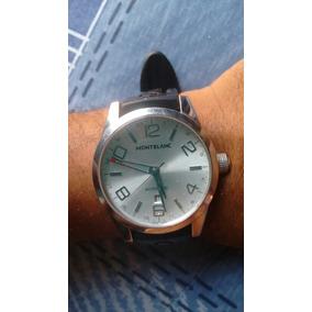 271148148a1 Relógio Montblanc Gmt. - Joias e Relógios no Mercado Livre Brasil