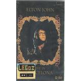 Legoz Zqz Elton Jhon Live - Dvd Disco Sellado Ref - 207