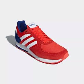 new style e4a3b 4040b Tenis adidas Hombre 8k Rojo Azul Original 2631349