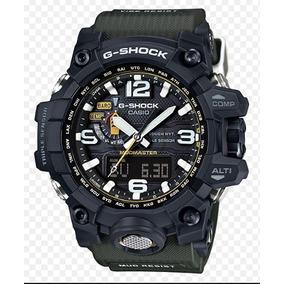 Relogio Casio G-shock Gwg-1000-1a3 Verde Mudmaster Gg-1000