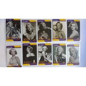 Loucura Série Marilyn Monroe 2008 (10 Cartões) China Tietong
