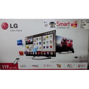 Tv Lg Led 47 Smart Tv 3d Usb Wifi Hdmi Dual Play Televisor