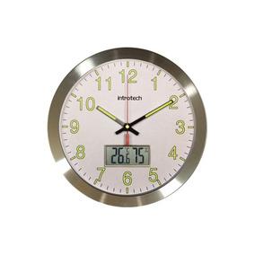 Reloj Con Termómetro Higrómetro Introtech