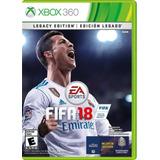 Fifa 18 Xbox 360 Nuevo Y Sellado (en D3 Gamers)