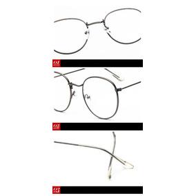 76407e1b4f82f Armação Para Óculos De Grau Social Discreto Moderno Leve - Óculos no ...
