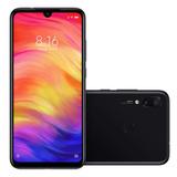 Smartphone Xiaomi Redmi Note 7 Tela 63 4g Preto Novo