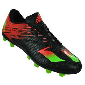 042d8dc469 Chuteira Adidas Messi 16.3 Fg Campo Preta Verde Original - Chuteiras ...
