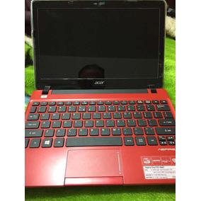 Netbook Notebook Acer Aspire One 725-0687 Pc Vermelho Tela10