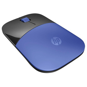 Mouse Wireless Sem Fio Hp Z3700 Azul Slim Windows 10