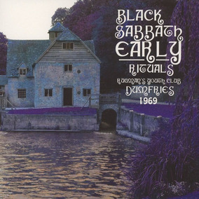 Black Sabbath - Lp Early Rituals - The End - Lançamento