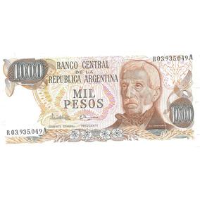Billete 1000 Pesos Ley Bottero 2461 Reposicion Sin Circular