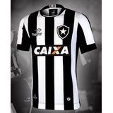 Camisa Botafogo Preta E Branca Listrada 2017 no Mercado Livre Brasil d06937a599f47
