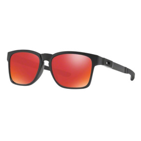 67c5412abc81f Oculos Sol Oakley Catalyst 9272 L256 Lent Vermelha Espelhada