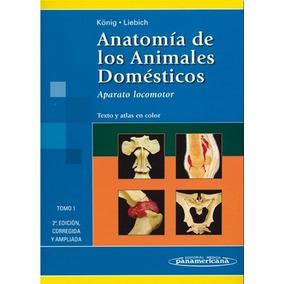 Anatomía De Los Animales Domésticos König - Liebich 2 Tomos