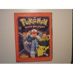 Álbum 144 Figurinhas -completo- Pokémom -1996 C/brilhantes