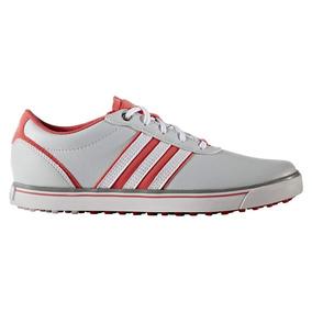 Zapatos Golf adidas Adicross V Mujer Grises blancas rosas 1358a78355fc