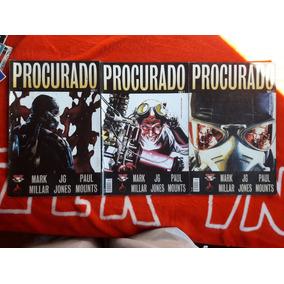 Procurado, Mini-série Completa Em 3 Edições, Mythos Editora