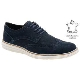 65d0384b26 Sapato Social Masculino Caramelo - Sapatos Azul escuro no Mercado ...