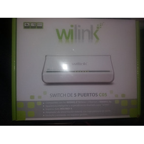 Switch 5 Puertos Marca Wilink C05,