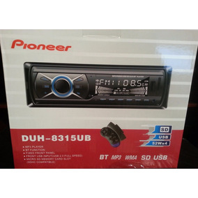 Reproductor Pioneer Bluetooth, Usb, Aux Y Radio