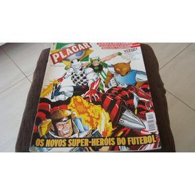 Lote Com 4 Revistas Placar Tamanho Gigante 1995