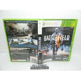 Battlefield 3 Original Midia Fisica C/ Caixa P/ Xbox 360
