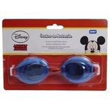 Óculos De Natação Infantil Mickey Mouse Azul Meninos Gedex
