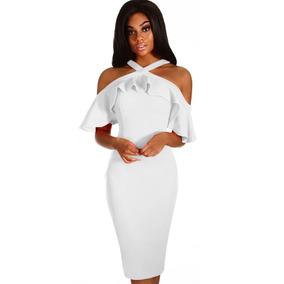 Vestido Boda Noche - Vestidos de Mujer Blanco en Mercado Libre México fc50196f367f