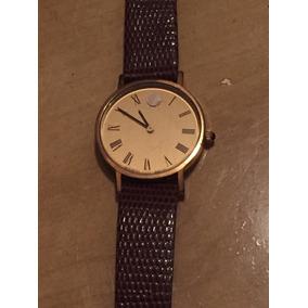 Relógio Original Suíço Movado Zenith Museum Mua Corda