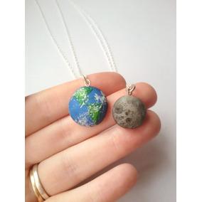 Collares Pareja O Amigos Tierra Y Luna