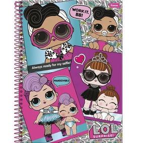 Caderno Lol 10 Matérias Espiral 200 Folhas