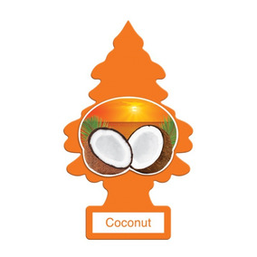 Aromatizante Little Trees Coconut 30 Unidades