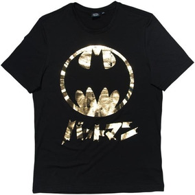 Playera Dc - American Level - Batman Gold