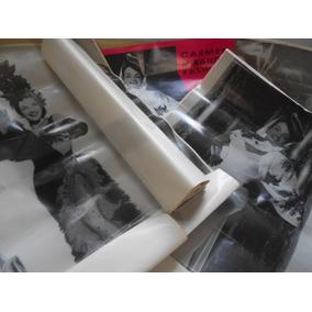 Carmen Miranda Pôster Gigante Original Lote C/ 7 Raro Único