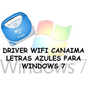 Driver Wifi C-a-n-a-i-m-a Letras Azules