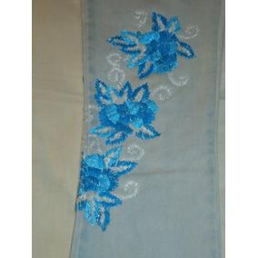 499fdbaa418 Calças Femininas De Grifes Variadas E Bordadas Usadas