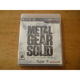Metal Gear Solid The Legacy Collection Ps3