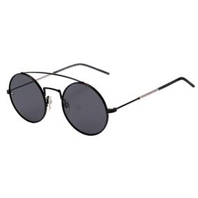 Tommy Hilfiger Th 1600 S - Óculos De Sol 807 Ir Preto Brilho ee6090c6c0