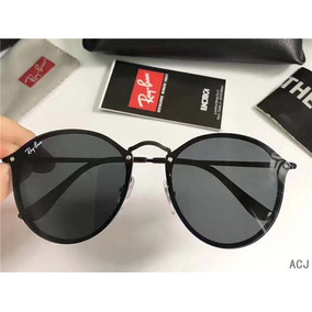 cbfc74e20d286 Oculos De Sol Feminino Ray Ban Round Blaze Rb3574 Masculino